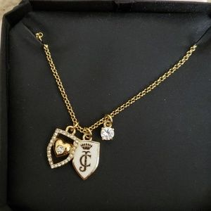 Juicy Couture Shield Necklace